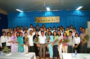 Giảng viên và sinh viên trường ĐH An Giang. Nguồn: enews.agu.edu.vn