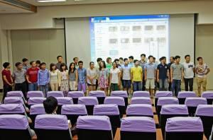 Buổi đón tiếp SV mới sang của Hội SVVN NCKU